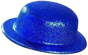 WIDMANN?Sombrero purpurina Unisex-Adult, Azul, talla única, vd-wdm28046