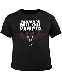 Mikalino Baby T-Shirt Mamas Milch Vampir kurzarm
