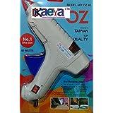 OKaeYa 40w 40 Watt Hot Melt Glue Gun Coated Nozzle With Indicator And On Off Switch With FREE 5 Big Glue Sticks - 8 Inch