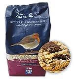 CJ Wildlife 120560815 Wild-Vogelfutter Rotkehlchen Menü 1 kg - empfohlen vom NABU und dem LBV