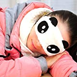 AOKDOOR Augenmaske Schlaf Reisen Neue Koreanische Version Schöne Cartoon Weichen Panda Brille Komfortable Augen Abdeckung Eyeshade (Mehrfarbig2)