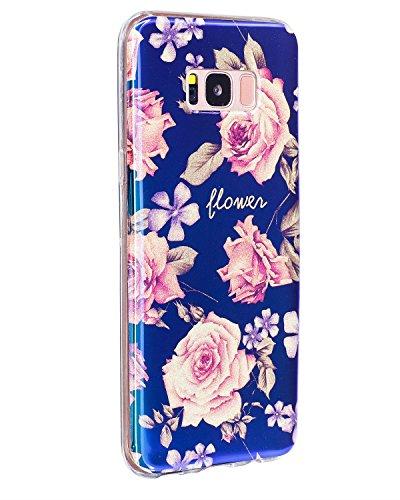 Für Samsung Galaxy S8 Soft Case, Ultra Thin Leichtgewicht Luxus Blue Light TPU Silikon Gel Schutzmaßnahmen zurück Deckung ( Color : C ) I