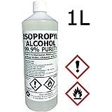 Hexeal Chemicals - Alcohol isopropílico, 99%, 1 L, para uso en farmacias y laboratorios