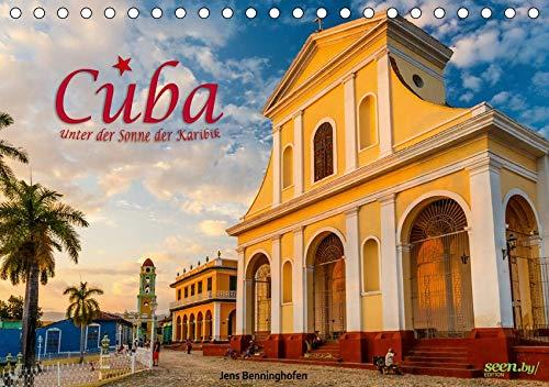 Cuba - Unter der Sonne der Karibik (Tischkalender 2020 DIN A5 quer): Kubas Schönheit und Verfall eingefangen in intensiven Farben. (Monatskalender, 14 Seiten ) (CALVENDO Orte)