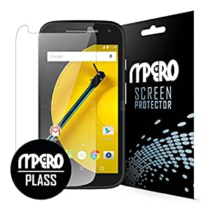 Motorola Moto E (2nd Gen) Screen Protector Cover, PLASS Clear HD Unbreakable Shatterproof Screen Cover 1-Pack - Better Than Tempered Glass - MPERO