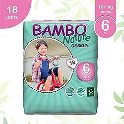Bambo Nature Baby case Saver eco-training pantaloni, taglia 6, 90-count