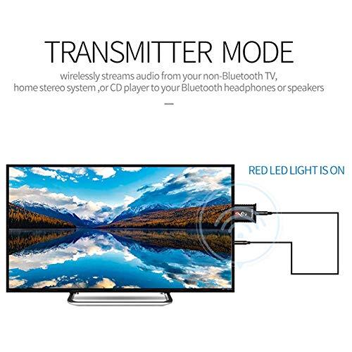 2 in 1 USB Bluetooth 5.0 Sender, Empfänger Computer TV Lautsprecher Auto Wireless Audio Adapter Home Stereo System