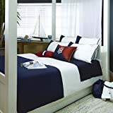 Tommy Hilfiger Bettwäsche Colour Block Navy 135x200 cm + 80x80 cm
