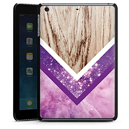 DeinDesign Apple iPad Mini 3 Hülle Schutz Hard Case Cover Holz Look Glitzer Hipster Muster