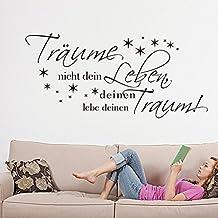 Suchergebnis auf Amazon.de für: wandtattoos sprüche schlafzimmer