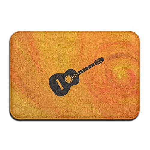 Brook Cad Gitarre Silhouette I Love Music Mats Outdoor Fußmatten