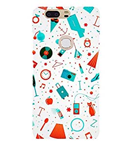 Camera Apple Deo 3D Hard Polycarbonate Designer Back Case Cover for Huawei P8