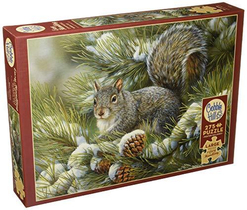 Cobblehill 88016 XL 275 Piezas Squirrel Puzzle, Varios