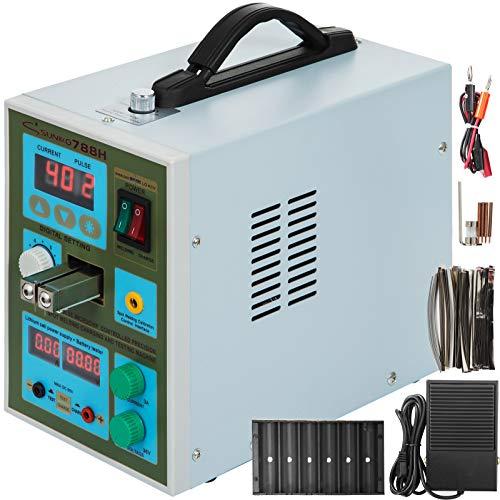 Mophorn 788H Schweißgerät-Schweißgerät-Maschine 2 in 1 LED-Akku-Ladegerät-Schweißgerät (788H)