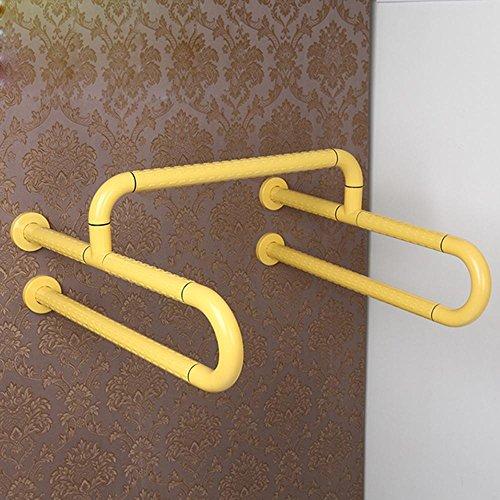 SAEJJ-Christmas giftUrinal Handlauf, Handlauf für Behinderte, Sicherheit-frei verschiebbare Armlehne, WC Bad Handlauf , A
