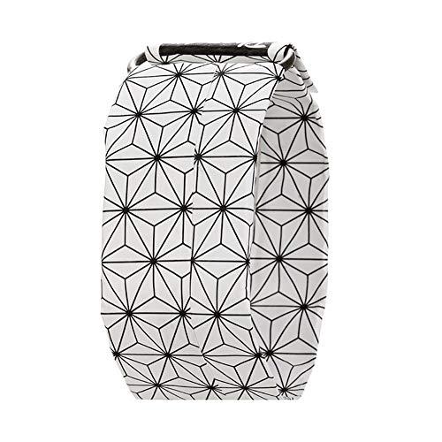 1 x Wasserdichte Papieruhr, super leicht, langlebig, digital, magnetisches System für Jungen und Mädchen (sechseckiger Stern)