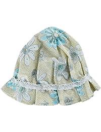 1 x Bonnet de Nuit en Pure Soie 100% - Imprimé Floral-Chapeau de Sommeil Pour Lissage Cheveux