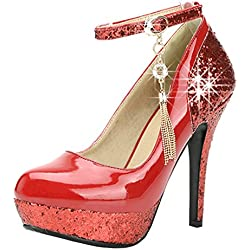 YE Damen Party Schuhe