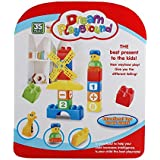 VIBGYOR Learning Blocks For Kids With Cartoon Figures, Bag Packing, Best Gift Toy, Multicolor (Set Of 35 Pcs) …