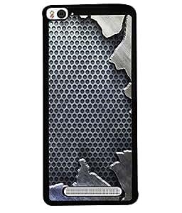 Fuson Designer Back Case Cover for Xiaomi Redmi Mi 4i :: Redmi Mi 4i (Fabric Design Flower Phool Garden)
