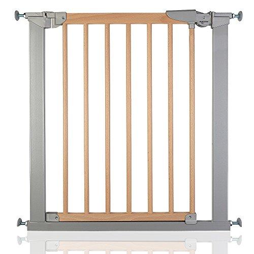 BabyDan True Pressure Avantgarde Baby Safety Stair Gate Silver Beech All Widths (71.3cm-77.6cm)