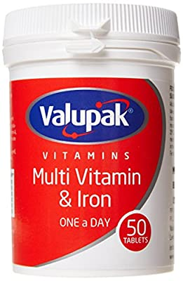 Valupak Multivitamin Plus Iron 50 Tablets from BR Pharmaceuticals