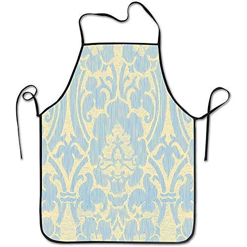 Helle abstrakte gestreifte Blumenmuster-Weinlese-Schellfisch-Schutzblech-dauerhafte Unisex für Küchen-Backen -