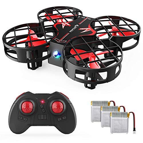 SNAPTAIN H823H Plus Mini Drone per Bambini, Quadricottero Funzione Throw & Go, Funzione di Hovering, 3D Filp, modalità Headless, velocità...