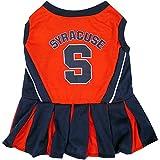 Pets First Collegiate Syracuse Orange Dog Cheerleader Dress - Best Reviews Guide