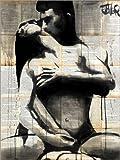 Posterlounge Cuadro Sobre Lienzo 100 x 130 cm: Eros de Loui Jover - Cuadro Terminado, Cuadro Sobre Bastidor, lámina terminada Sobre Lienzo auténtico, impresión en Lienzo