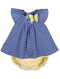 Tutto Piccolo Tutú, Robe de Chambre Bébé Fille, Bleu (Indigo), 68