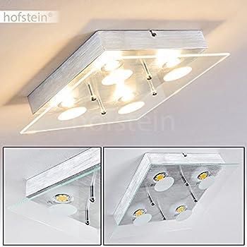 Plafonnier carré LED 4 x 320 Lumen