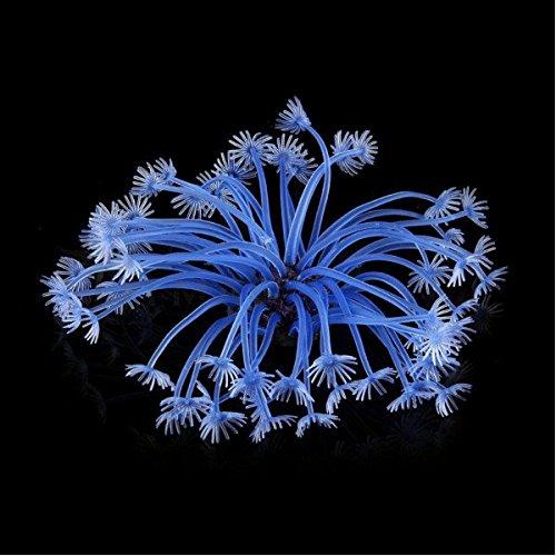 rium Künstliche Fische Tank Dekoration Blau Pflanze Coral ()