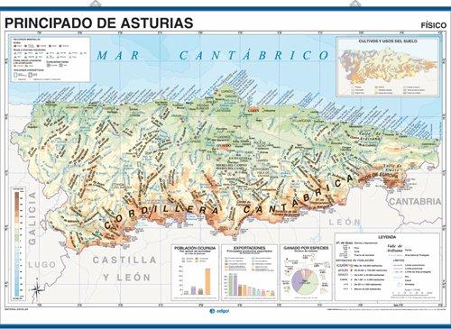 Mapa de Asturias MAPAS DE CARRETERAS  MERCAINFORMATICA