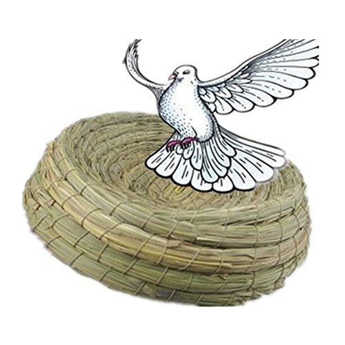 Fully 2x Bird Breeding Straw Nest Bed 11 02