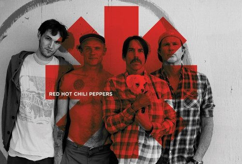 Red Hot Chili Peppers-Red Asterix, Poster, 61 x 91,5 Cm/Poster ""
