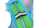 OVVO Einzigartiges Desigh 10L Trinkblase Rucksack Einstellbare Taktische Wasser Rucksack mit Wasser Blase für Radfahren Radfahren Reisen Wandern (Lila)