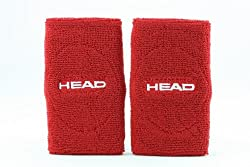 Head Wristband Accessories, 5-inch (Red)