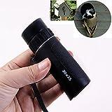F.Dorla 30x25 Mini Focus Telescope Optics Zoom Green Film HD Monocular Scalable Spy