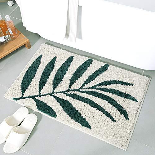 Hochflor Shaggy Schmutzfangmatte Anti-Rutsch Teppich Morbuy Bequeme Badematte Badezimmer-Teppich...
