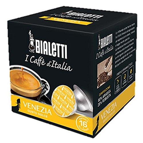 Bialetti Capsule Venezia - Set 8 confezioni da 16 capsule