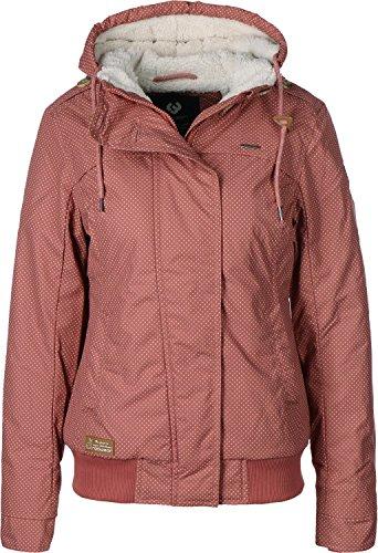 Ragwear Ewok Minidots Jacket Dusty Red XL