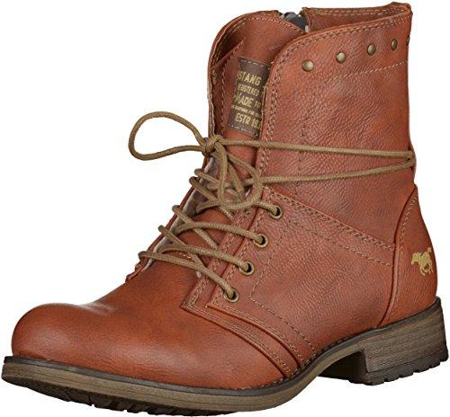 Mustang 1139610, Boots femme marronnier