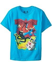 Minecraft SamCube Schlacht Jugendliche T-shirt