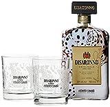 Di Saronno Amaretto Originale Roberto Cavalli Limited Edition mit 2 Gläsern Likör (1 x 0.7 l)