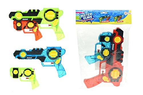 TOI TOYS 65006SYM Toys WA de Pistola policía/Bomberos, Surtidos