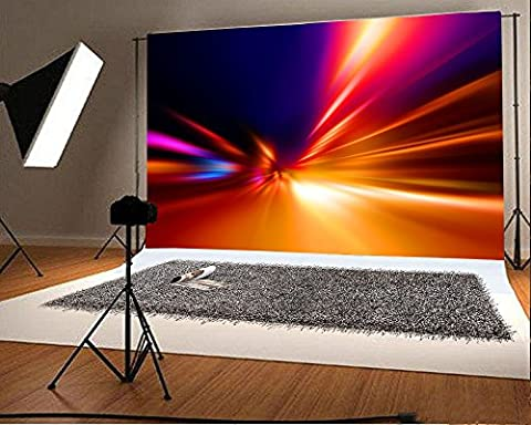 Aaloolaa 3.5x2.5m Vinyl Photography Backdrop Abstract Colorful Ray of Light Scene Backdrops for Photo Shoots Lovers Adult Wedding Party Personal Portrait Large Photo Background Studio Props 12x8ft