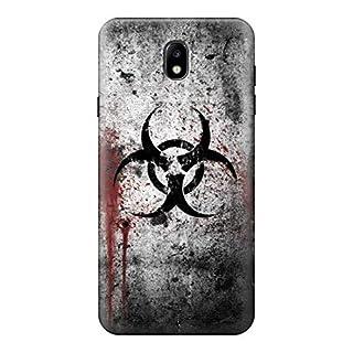 Biohazards Biological Hazard Case Cover For Samsung Galaxy J7 (2018), J7 Aero, J7 Top, J7 Aura, J7 Crown, J7 Refine, J7 Eon, J7 V 2nd Gen, J7 Star