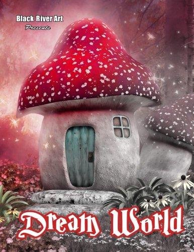 Dream World Grayscale Coloring Book por Karlon Douglas