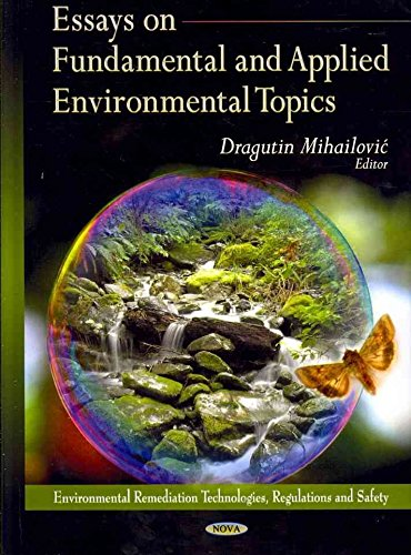 essays on environmental science Environmental science essays florida is known for its fertile lands and climate conducive to growing a number of different types of produce most famous for citrus.